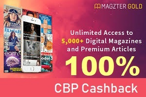 Enjoy 1 year of unlimited access to 5,000+ Best-Selling Magazines and Premium Articles for just ₹999 and Get ₹1075 Cashback