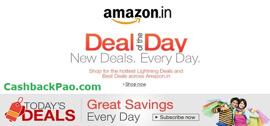 Amazon India Deals of the Day Best Discount