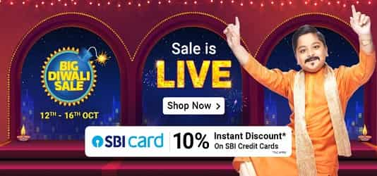Flipkart The Big Billion Days 29th September - 4th October 2019